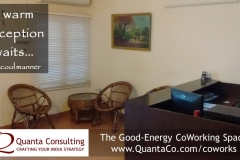 Quanta Coworks Warm Reception